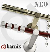 Karnisze Metalowe NEO