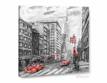 Obraz na płótnie Canvas Quadro New York