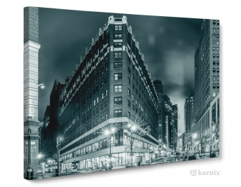 Obraz na płótnie Canvas Panorama New York Monochrom
